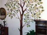 Wall Tree Mural Stencils Leafy Tree Stencil Walltowallstencils