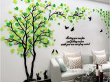 Wall Tree Mural Stencils New Arrival Couple Tree 3d Three Dimensional Acrylic Wall