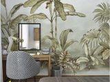 Wallpaper Mural Wall Art Custom Size Floral Wallpaper Mural Wall Decor ㎡
