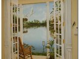 Wallpaper Murals for Doors Celebration Florida Trompe L Oeil Mural by Art Effects