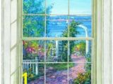 Wallpaper Murals Window Scenes 46 Best Window Mural Images