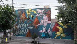 Walls Of Wonder Murals Pastel S Botanical Murals Beautify Overlooked areas In
