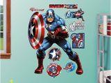 Walltastic Avengers assemble Wall Mural Fathead Captain Americaavengers assemble Real Big Wall Decal