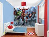 Walltastic Avengers assemble Wall Mural Walltastic Avengers Roomset Shown In Same or Different