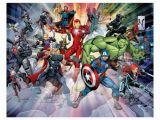 Walltastic Avengers Wall Mural Nástěnná Tapeta Walltastic 3d Avengers