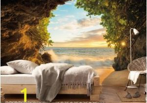Walltastic Paradise Beach Wall Mural Komar Hide Out Wall Mural