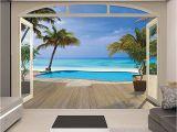 Walltastic Paradise Beach Wall Mural Love This Paradise Beach Wall Mural by Brewster Home