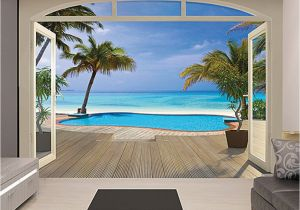 Walltastic Paradise Beach Wall Mural Love This Paradise Beach Wall Mural by Brewster Home