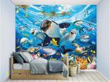 Walltastic Sea Adventure Wall Mural Fototapeta Dla Dzieci 3d Sea Adventure 244x305cm Tapeta Walltastic