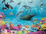Walltastic Sea Adventure Wall Mural Fototapeta Dla Dzieci Sea Adventure 2 3d Dekoracje Do Domu