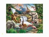 Walltastic Space Adventure Wall Mural Walltastic Jungle Adventure Mural 8ft X 10ft In 2019