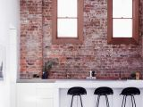 Warehouse Brick Wall Mural An Industrial Loft Like Family Home