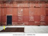 Warehouse Brick Wall Mural Old Building Stock S & Graphy