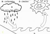 Water Cycle Coloring Page Teaching the Water Cycle In A Basic Way to Preschool Children On W