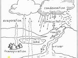 Water Cycle Coloring Page the Hydrologic Cycle Sped Class Pinterest