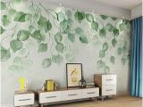 Watercolor Floral Wall Mural Watercolor Pink Flowers Wallpaper Wall Mural Hanging Branch