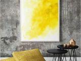 Watercolor Wall Mural Diy Off Yellow Watercolor Wall Art Modern Wall by