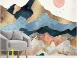Watercolor Wall Mural Diy Pin On Color In Nature