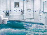 Waterproof Bathroom Murals Pvc Self Adhesive Waterproof 3d Floor Tiles Wallpaper Modern