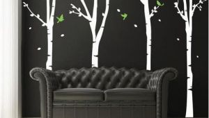 Wayfair Canada Wall Murals Found It at Wayfair Four Super Birch Trees Wall Decal