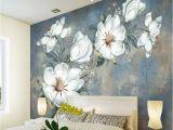 Weatherproof Garden Wall Murals Custom Flowers Wallpaper 3d Retro Rose Murals for the Living Room
