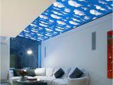 Weatherproof Garden Wall Murals New 3d Wall Sticker Natural Sky Wallpaper Waterproof Stickers Mural