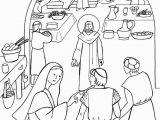 Wedding Feast at Cana Coloring Page 200 Le Nozze Di Cana Da Colorare Disegni Da Colorare
