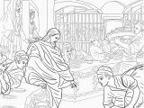 Wedding Feast at Cana Coloring Page First Miracle Of Jesus at the Wedding Feast at Cana