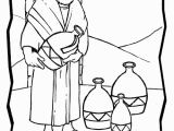 Wedding Feast at Cana Coloring Page Marriage at Cana Coloring Page
