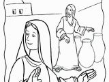 """Wedding Feast at Cana Coloring Page """"do Whatever He Tells You"""" Mary at the Wedding Feast Of"""