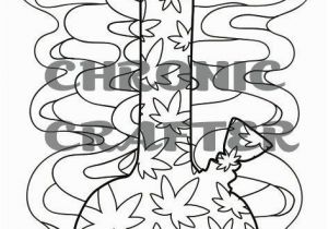 Weed Coloring Pages Coloring is the Perfect Activity when Youre High so Grab This