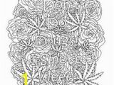 Weed Coloring Pages Swear Word Coloring Book 20 Swear Word Coloring Pages for Stress