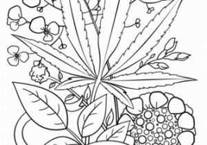 Weed Coloring Pages Trippy Weed Coloring Page Color Pinterest