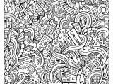 Weird Design Coloring Pages Weird Doodle City by Olga Kotsenko source 123rf From the