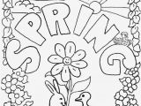 Welcome Spring Coloring Pages Printable Color Sheets for Spring 8102
