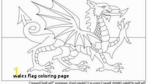 Welsh Flag Coloring Page Wales Flag Coloring Page Russian Flag Coloring Page Unique Welsh