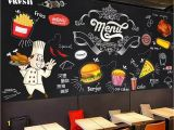 Western Wallpaper Murals Beibehang Custom Wallpaper Blackboard Mural Hand Painted Western