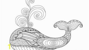 Whale Adult Coloring Pages Dolphins and Whales Coloring Pages