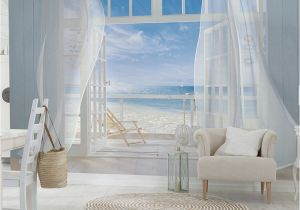 What is A Wall Mural This Malibu Wall Mural by Brewster Home Fashions is Perfect