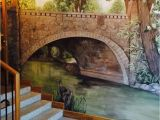 What is Wall Mural Painting Mural Painted by Lilian Peterson