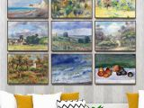 What Kind Of Paint Do You Use for Wall Murals Us $4 02 Off Home Decoration Art Wall Fro Living Room Poster Print Canvas Paintings French Pierre Auguste Renoir 2 Oli Painting In