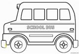 Wheels On the Bus Coloring Page School Bus Coloring