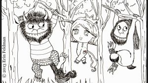 Where the Wild Things are Coloring Pages where the Wild Things are Coloring Pages for Kids and