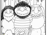 Where the Wild Things are Printable Coloring Pages where the Wild Things are Coloring Page Coloring Home