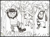 Where the Wild Things are Printable Coloring Pages where the Wild Things are Coloring Pages for Kids and