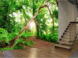 Where's Waldo Wall Mural forest Trees Nature Plant Green Wall Mural Wallpaper
