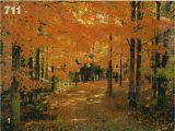 Where's Waldo Wall Mural Tree Mural Scenic Wall Mural Autumn Road