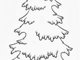 White Pine Tree Coloring Page 20 Skinny Christmas Tree Coloring Page