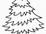 White Pine Tree Coloring Page Line Christmas Coloring Book Printables