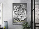 White Tiger Wall Mural Amazon Canvas Lion and Tiger Face Leadership Wall